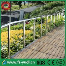 Pas cher intérieur en acier inoxydable câble balcon main courante balustrade à vendre