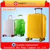 2014 new yellow custom designer luggage