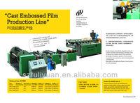 cast embossed film production line