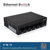 5 ports mini power over single port optical ethernet gigabit switch