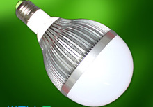 led bulb lighting Spheric bulb 80mm high 120mm 125/130v E27 1000K 470 lumen