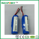750mAh 3.7v icr 14500 li-ion rechargeable battery