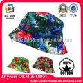 Custom floral em branco e chapéu de balde/atacado camo floral em branco e chapéu de balde/personalizar novos produtos 2014