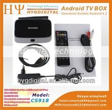 CS918 XBMC rk3188 quad core 2g ram 8g rom google android tv box quad core rk3188 tv box android 4.2