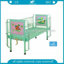 AG-CB002 No wheels!!! Flat Mechanical Metal Cot Bed