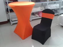 hot sale spandex table cover, spandex chair cover for wedding party