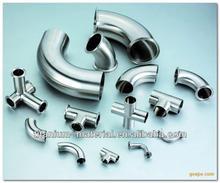 titanium pipe fittings Welded 90 deg titanium elbows