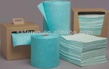 Universal Hazmat Pads & Rolls spill absorbents