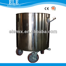 500/1000L Stainless stell tank for paint/pigment/ink