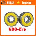 de alta precisión profundo del surco de rodamientos de la bicicleta 608 cojinete de bolas de tamaños