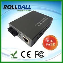 High performance Internal or External switching power 10 100m fast ethernet media converter