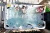 10 Perosn Backyard Water Relaxation Cheap Massage Bath Hot tub A870