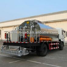 multi-function top sale ZQZ5162GLQ Asphalt Distributor spraying bitumen with famous truck