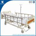 Bt-ae104 6- rango de al- aleación de carriles laterales del hospital cama eléctrica
