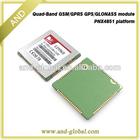 SIM968 GPS/GLONASS module PNX4851 platform