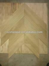 oak wood chevron parquet flooring
