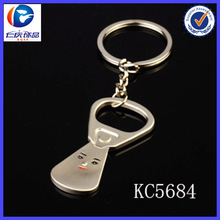 Wholesale Can tab bottle opener metal key chain promotional Gift manufacturer in China