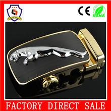 35mm inner size silver color jaguar style buckles/ 3D metal belt buckle/make metal belt buckles (HH-buckle-106)