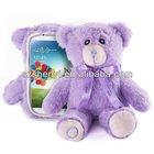Lavender Teddy Bear Plush Smart Phone Case