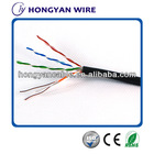 pass fluke test utp cat5e brand lan cable 4p 24awg lan cable high speed solid structured cabling