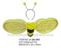 2014 hot venda abelha asas com 3 pcs para a festa