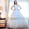 S21486 Top-Bride Real Photo 2014 Ball Gown Tulle Wedding Dress