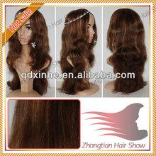 Beauty Virgin European Hair Jewish Wig Highlight