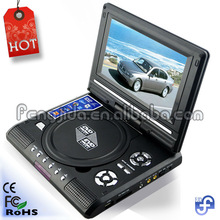 big screen super thin portable dvd player rechargeable battery pack for portable dvd