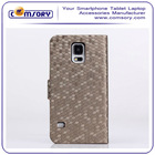 For Samsung Galaxy S5 Premium PU Leather Wallet Flip Case Cover Folio Stand
