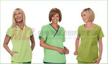 Women Solid Medical Scrub Top