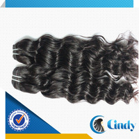 cheap price black color deep wave 100% cheap virgin indian rosa hair products