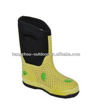 Kids Rain Boots/Kids Soft Boots/Kids Yellow Boots