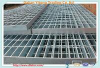 hot dip galvanized Flat bar steel driveway grates steel grating weight