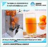 Fresh Orange Squeezing Mahcine commercial orange juice machine with auto feed hopper automatic citrus juicer