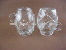 glass jar , glass jar with lids ,glass jar with handle,glassware