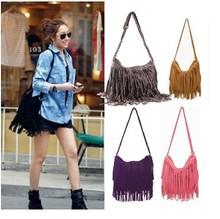 2014 lady fashion bag fringe tassel bag/tassel shoulder bag/tassel bag