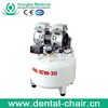 durable use direct coupling anest iwata oil free dental air compressor