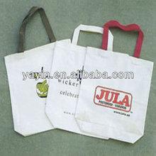 Eco cotton tote bag/custom printed cotton bag