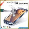 Accesorio del teléfono celular para samsung galaxy s3 i9300 pmma explosión- anti prueba- añicos de guardia de pantalla de la película