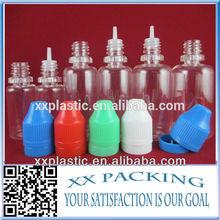 pet dropper bottle for nicotine oils 10ml plastic dropper bottle