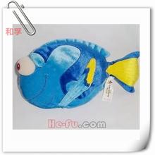 Custom Fish Of Soft Plush Stuffed Sea Animal Toy For Kids
