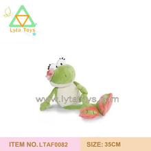 custom plush frog for girl