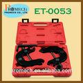 Profesional del árbol de levas del motor herramienta de alineación conjunto/reparación de carrocería de mano kit de herramientas