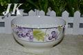 heißer verkauf keramik chinesische suppenschüssel mit aufkleber gedruckt