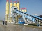 Stationary dry mix concrete batch plant
