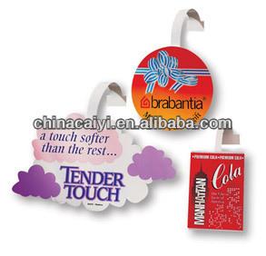 custom promotional wobbler