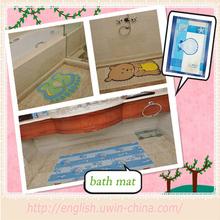 high performance custom design funny bath mat anti slip children pvc bath mat