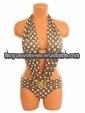 Material Nylon one piece bikini and Beachwear