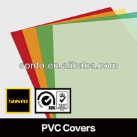 Glossy PVC books cover plastic sheets
