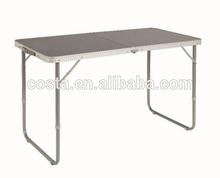 Alum camp table